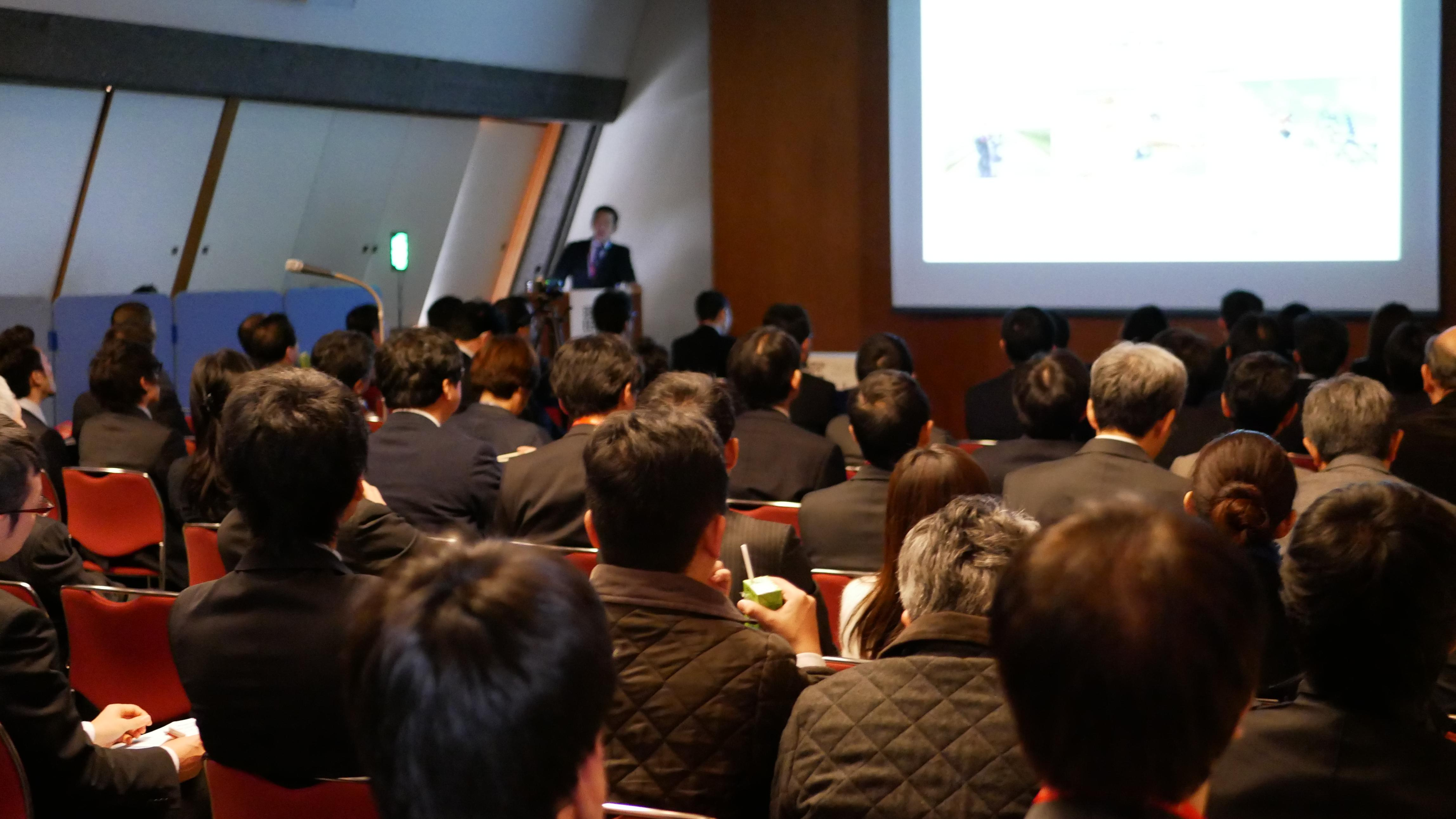 内視鏡外科学会総会ランチョンセミナーの様子.JPG